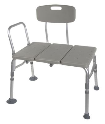 Gray Transfer Bench