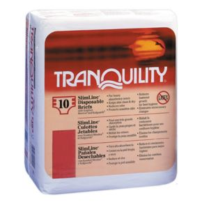 Tranquility SlimLine Disposable Briefs main image