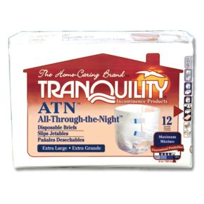 Tranquility ATN All-Through-the-Night Disposable Briefs main image