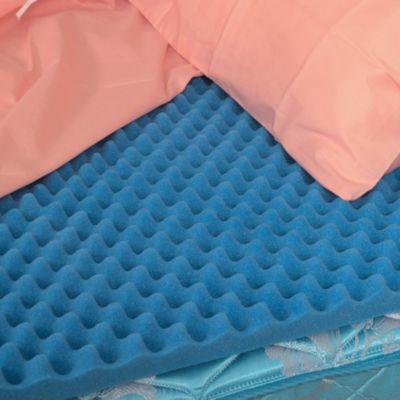 Convoluted Foam Egg Crate Mattress Topper