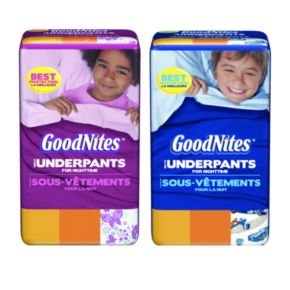 GoodNites Absorbent Nighttime Pants main image