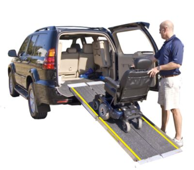 Harmar Multifold Safety Ramp