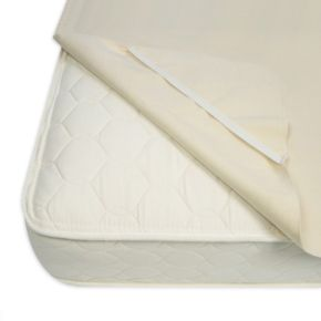 NaturePedic Organic Waterproof Mattress Pad, Anchor Band Style main image