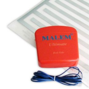 Malem ULTIMATE Bed-side Bedwetting Alarm with Pad main image