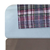 Quilted Plaid Reusable Underpad