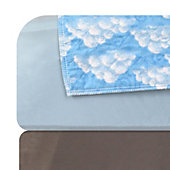 Printed Washable Underpad-Blue Sky