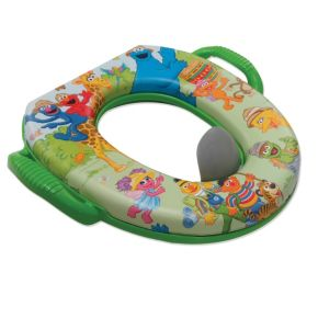 Sesame Street Safari Soft Potty Seat main image